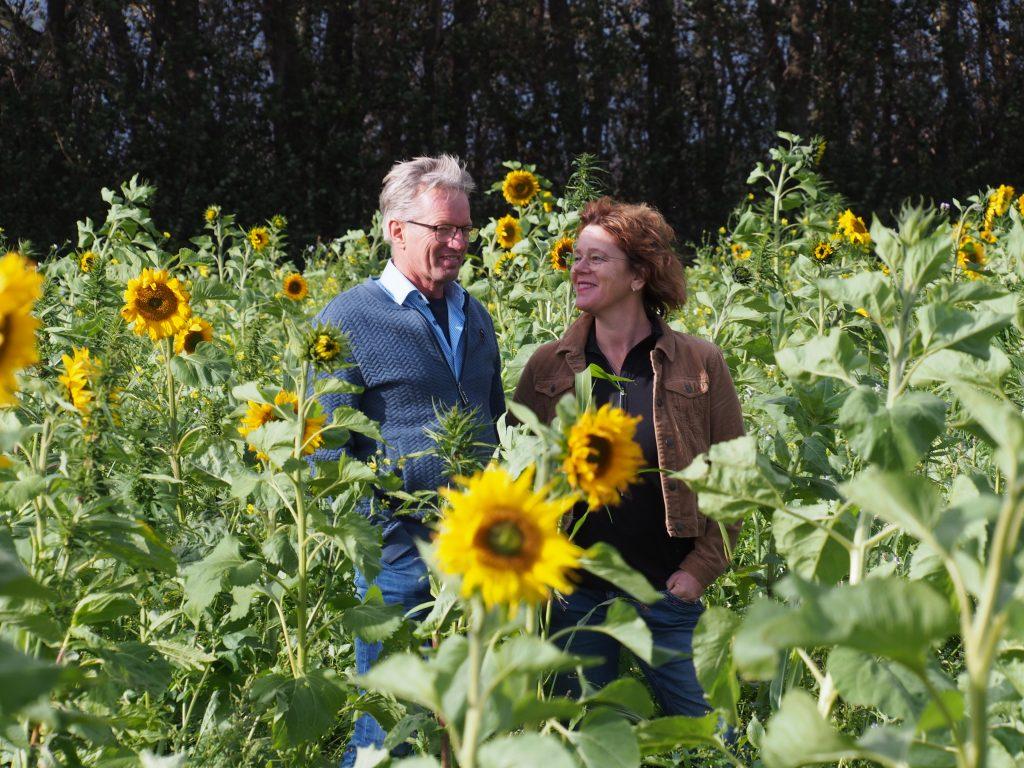 John en Johanna Huiberts-in-gemengde-groenbemester