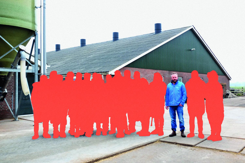 Nieuwe Boeren familie campagnebeeld
